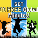 Free 10 Minutes Global Talk Time