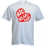 Free Big Heart Baby Adult-Size T-Shirt
