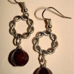 Win A Pair Of Agate Drop Earrings