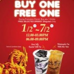 Chatime Buy 1 Get 1 Free Promo