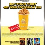 RM1 Popcorn For Every TGV Ticket