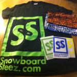 Free SnowboardSteez Stickers