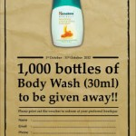 Free Himalaya Body Wash Sample