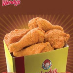 5pcs Wendy's Fried Chicken For RM8 nett